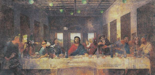 """82. Rossoneri.  """"тайная вечеря """" сегодняшние реалии."""