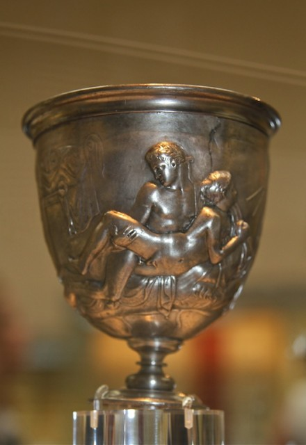 Кубок Уворрена (начало первого столетия нашей эры, Рим) был приобретен
